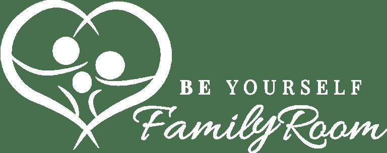 Logo vom FamilyRoom mit Untertitel